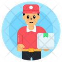 Delivery Guy Courier Boy Delivery Boy Icon