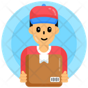 Delivery Guy Delivery Boy Courier Boy Icon
