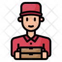 Delivery Boy Delivery Man Icon