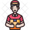 Courier Delivery Courier Shipping And Delivery Icon