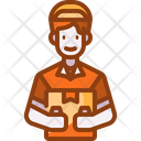 Delivery Boy Delivery Man Courier Icon