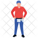 Delivery Boy Delivery Man Logistics Icon