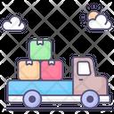 Delivery Bus Icon