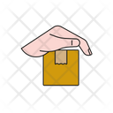 Delivery Care Parcel Care Secure Delivery Icon