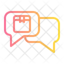 Chat Truck Delivery Icon