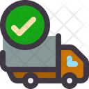 Delivery Check Delivery Truck Truck Icon