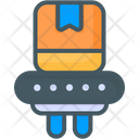 Delivery Checking Parcel Checking Delivery X Ray Icon