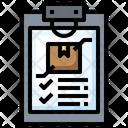Delivery Checklist Icon