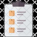 Criteria Checklist Clipboard Icon