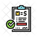 Evaluation Requisition Budget Icon