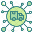 Delivery Connection Icon