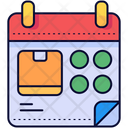 Delivery Date Date Schedule Icon