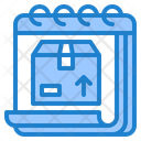 Delivery Date Delivery Box Icon