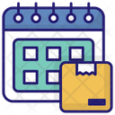 Delivery Date Calendar Delivery Icon