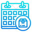 Delivery Date Calendar Datetime Icon