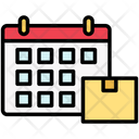 Delivery Date Package Parcel Icon