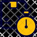 Stopwatch Estimate Timer Icon