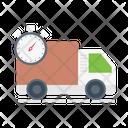 Delivery Deadline Logistics Icon