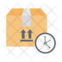 Deadline Delivery Parcel Icon