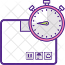 Delivery Deadline Shipping Icon