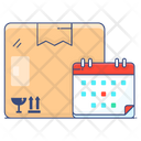 Delivery Delays Delivery Schedule Delivery Appointment Icon