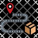 Delivery destination Icon