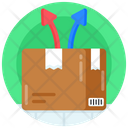 Logistic Direction Delivery Direction Shipment Direction Icon