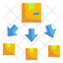 Delivery Distribution Product Distribution Distribution Icon