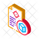 Parcel Delivery Document Icon