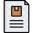 Delivery Document Icon