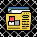 Delivery Documentation Documentation Delivery Icon