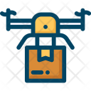 Delivery Drone Icon