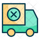 Delivery Failed Service Transport Icon