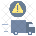 Delivery Failure Transport Logistic Icon