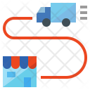 Delivery Flow Icon