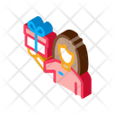 Gift Woman Ring Icon