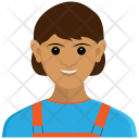 Delivery Girl Avatar Icon