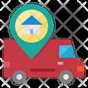 Delivery Home Location Icon