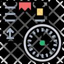 247 Clock Deadline Icon