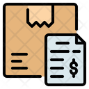 Delivery Invoice Icon