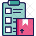Checklist Delivery List Parcel List Icon