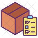 Commercial Delivery Delivery List Courier List Icon