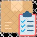 Checklist Box Package Icon