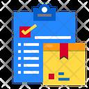 Checklist Delivery Logistics Icon