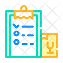 Delivering List Color Icon