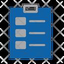 Check Mark Checklist Clipboard Icon