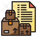 Delivery List Delivery File Icon