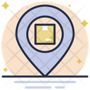 Parcel Location Map Pin Location Pointer Icon