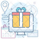 Track Order Shipping Address Package Tracking Icon