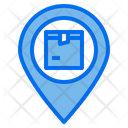 Delivery Destination Location Icon